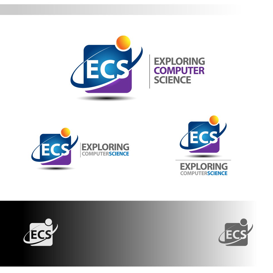 Logo Design by zesthar - Entry No. 180 in the Logo Design Contest ECS - Exploring Computer Science.
