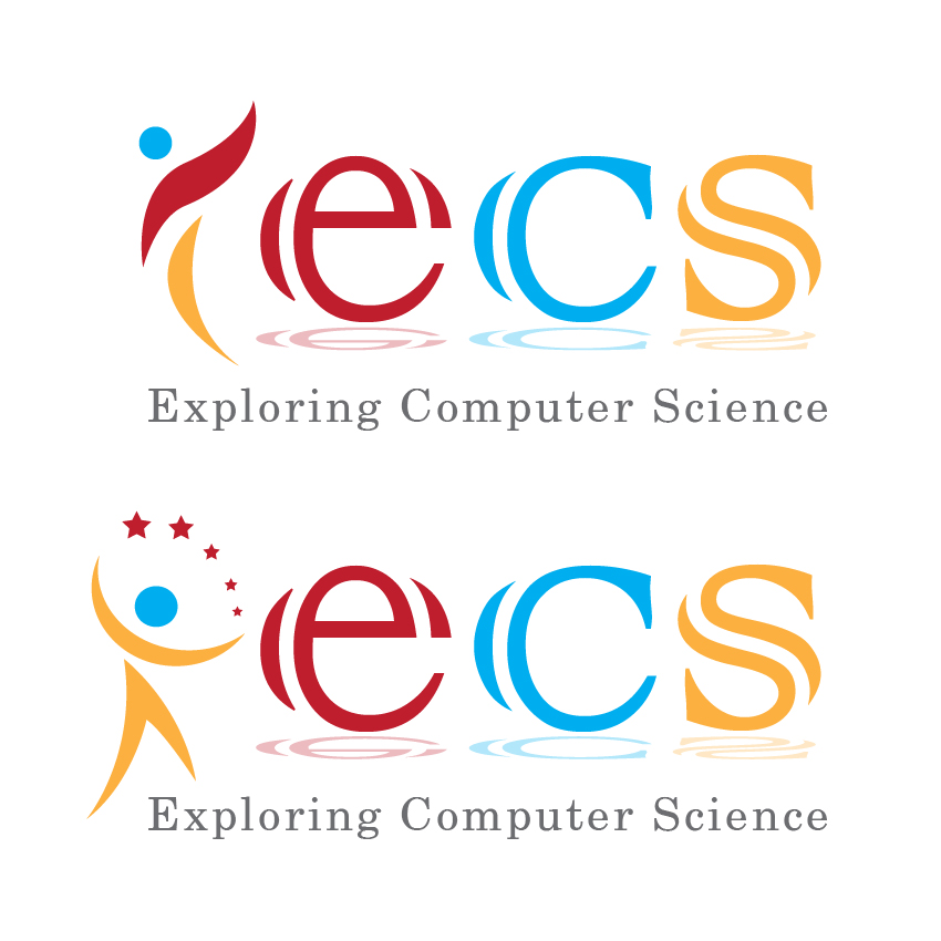 Logo Design by aesthetic-art - Entry No. 188 in the Logo Design Contest ECS - Exploring Computer Science.