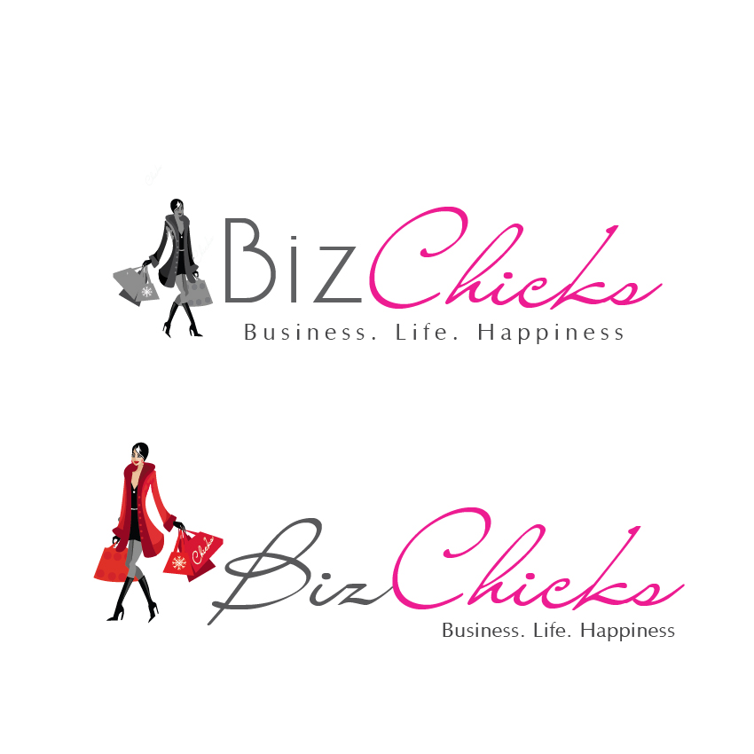 Logo Design by aesthetic-art - Entry No. 18 in the Logo Design Contest BizChicks e-magazine.