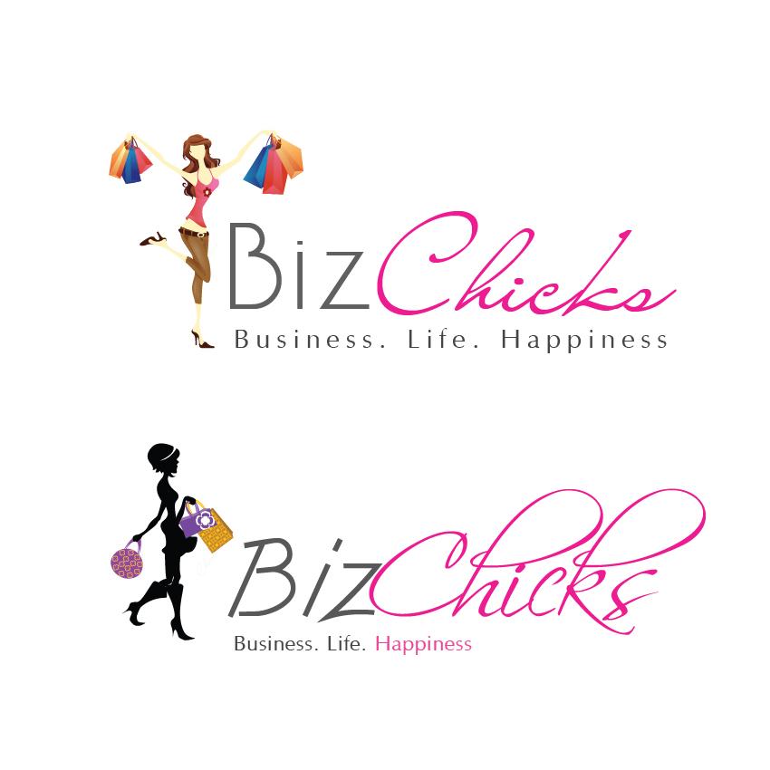 Logo Design by aesthetic-art - Entry No. 19 in the Logo Design Contest BizChicks e-magazine.