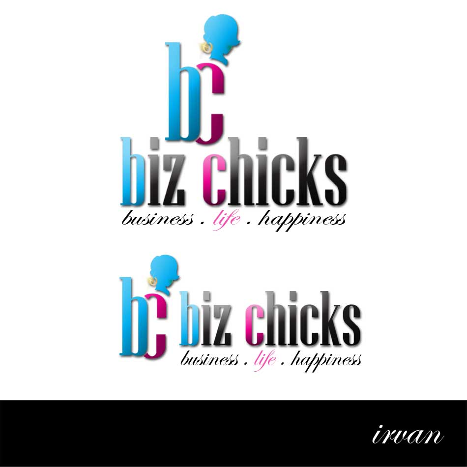 Logo Design by ipay_psywar - Entry No. 20 in the Logo Design Contest BizChicks e-magazine.