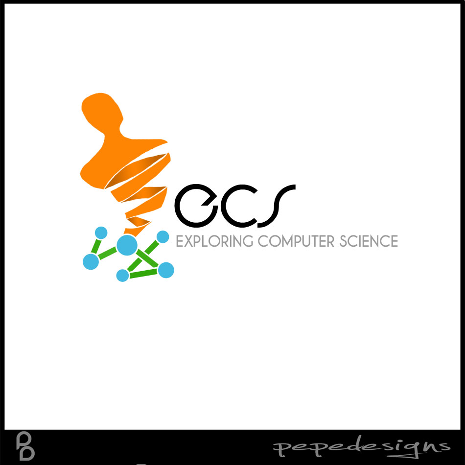 Logo Design by Joseph Lemuel Lacatan - Entry No. 194 in the Logo Design Contest ECS - Exploring Computer Science.