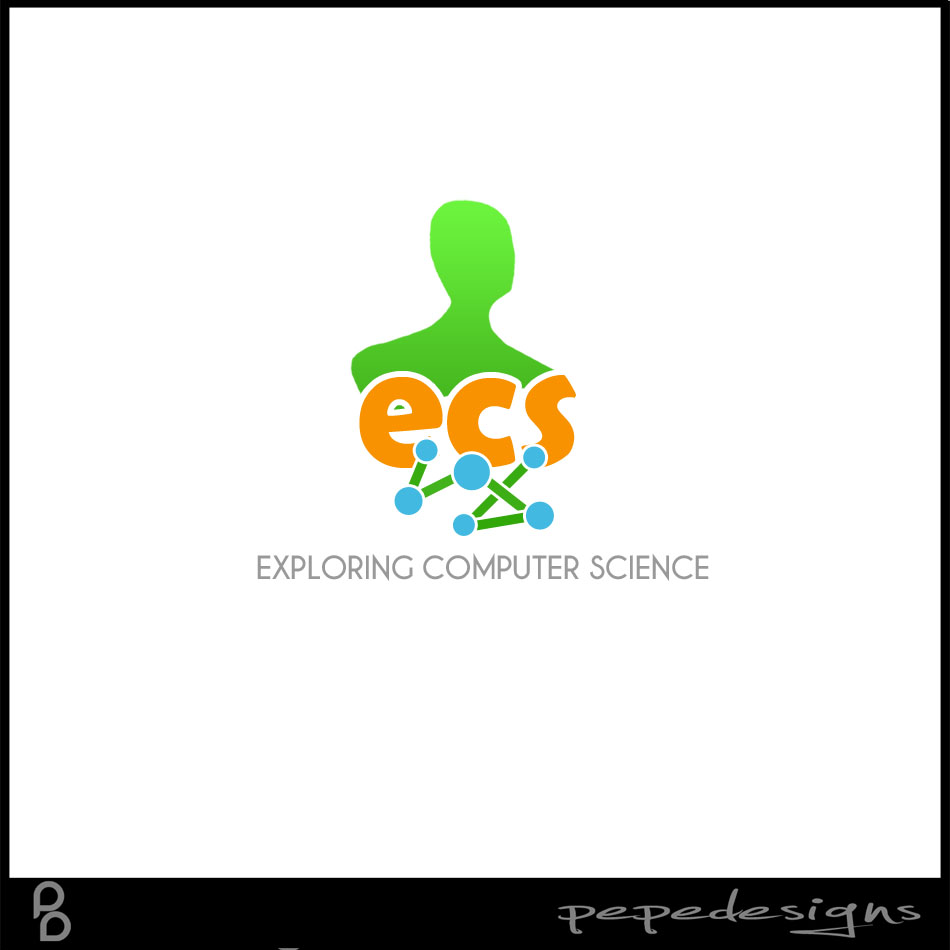 Logo Design by Joseph Neal Lacatan - Entry No. 195 in the Logo Design Contest ECS - Exploring Computer Science.