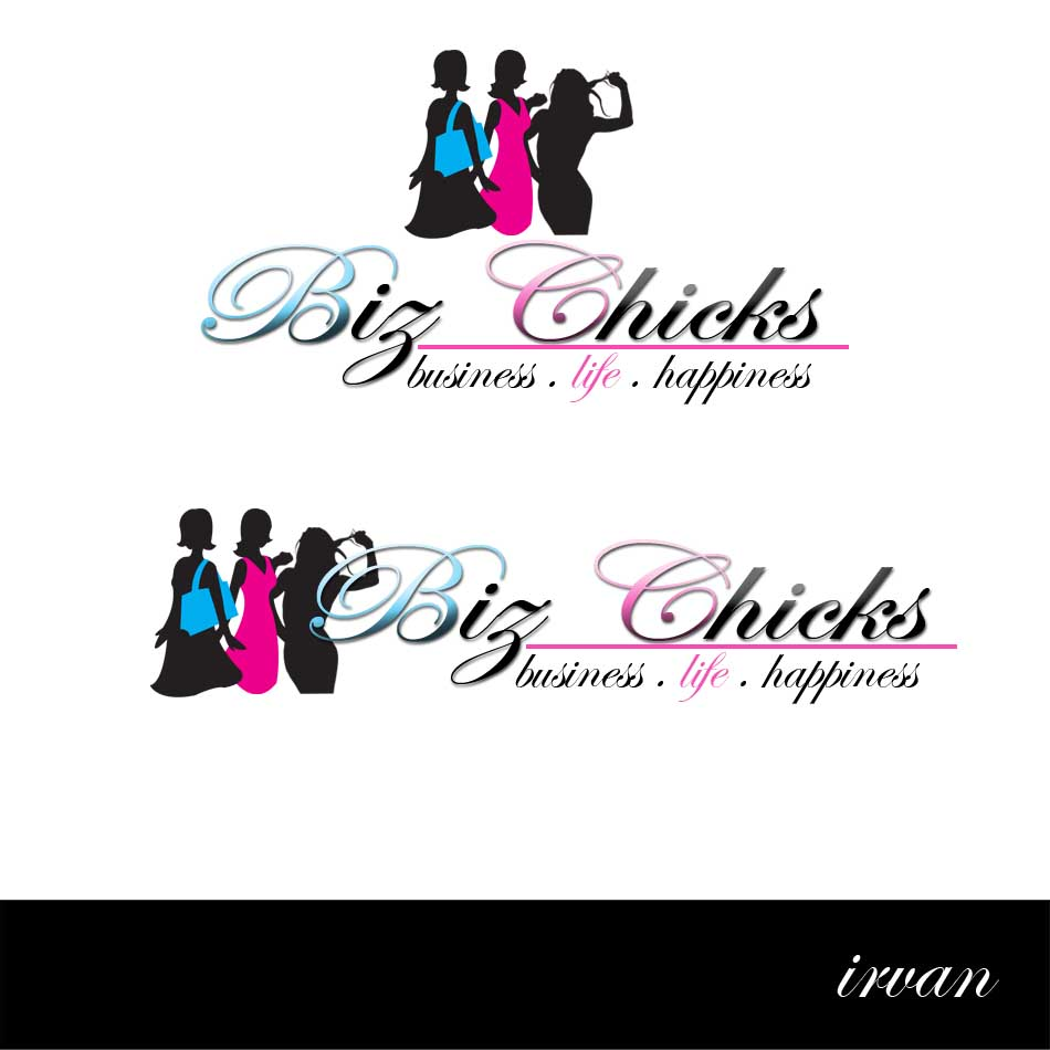 Logo Design by ipay_psywar - Entry No. 21 in the Logo Design Contest BizChicks e-magazine.
