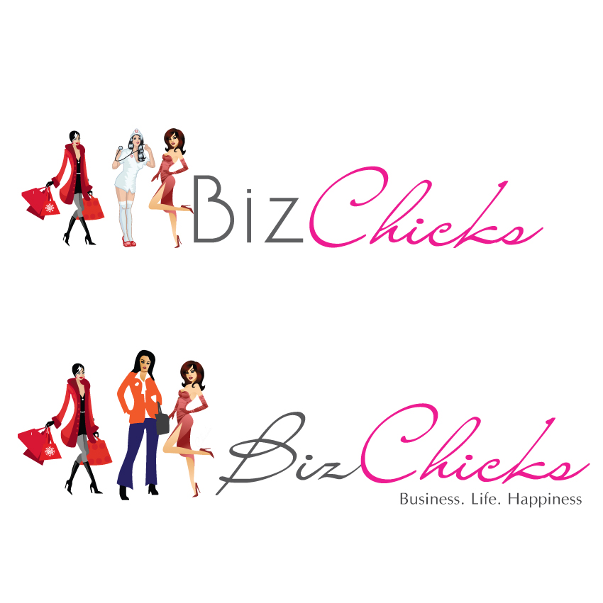 Logo Design by aesthetic-art - Entry No. 24 in the Logo Design Contest BizChicks e-magazine.