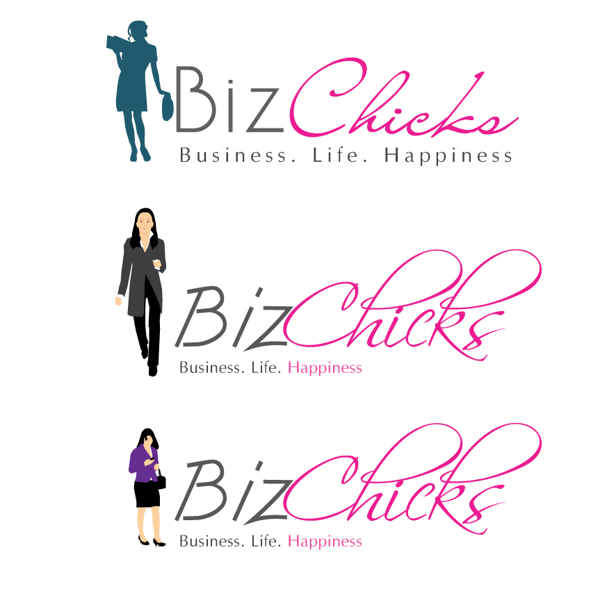 Logo Design by aesthetic-art - Entry No. 25 in the Logo Design Contest BizChicks e-magazine.