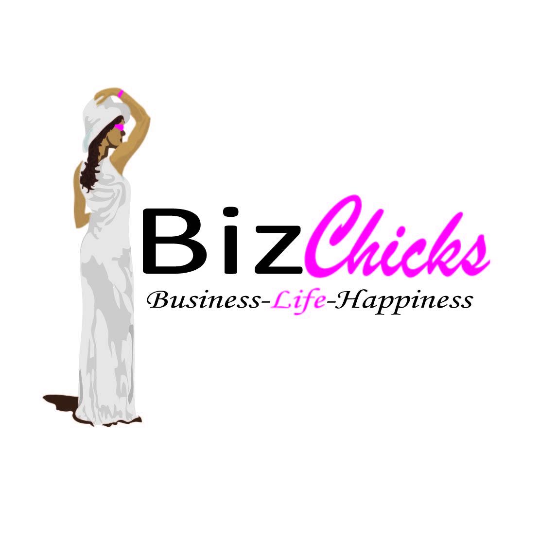 Logo Design by Saunter - Entry No. 26 in the Logo Design Contest BizChicks e-magazine.
