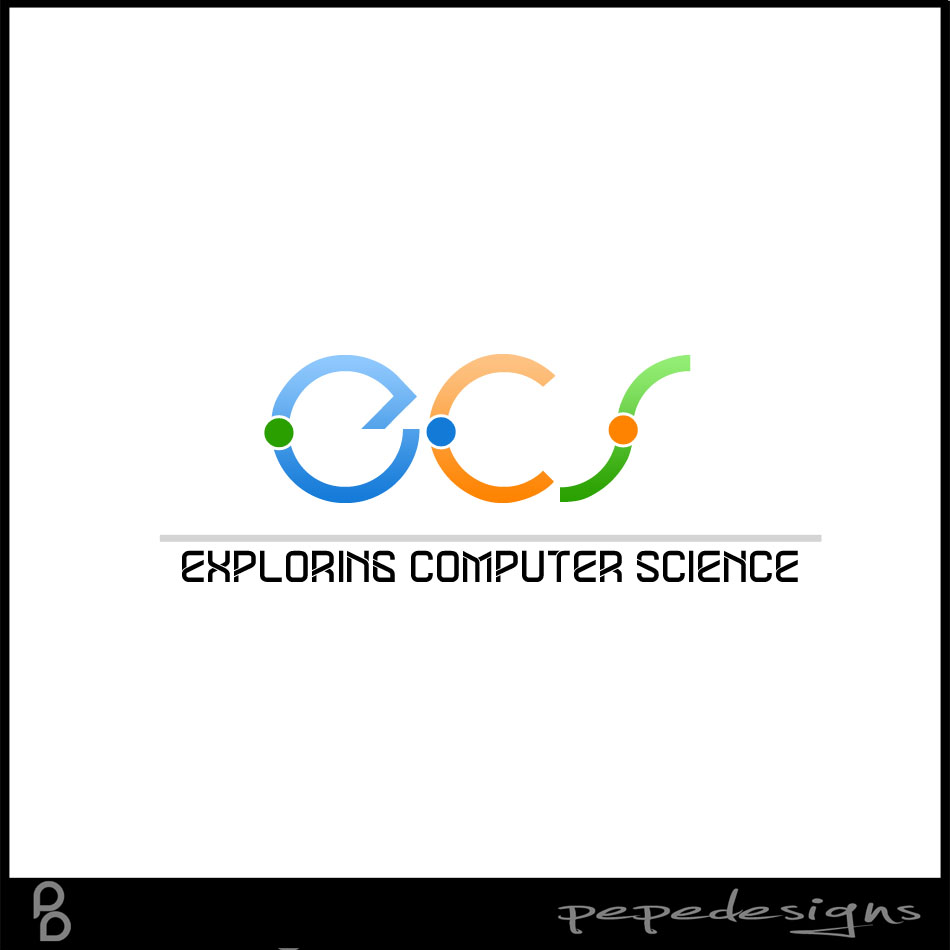 Logo Design by Joseph Lemuel Lacatan - Entry No. 202 in the Logo Design Contest ECS - Exploring Computer Science.