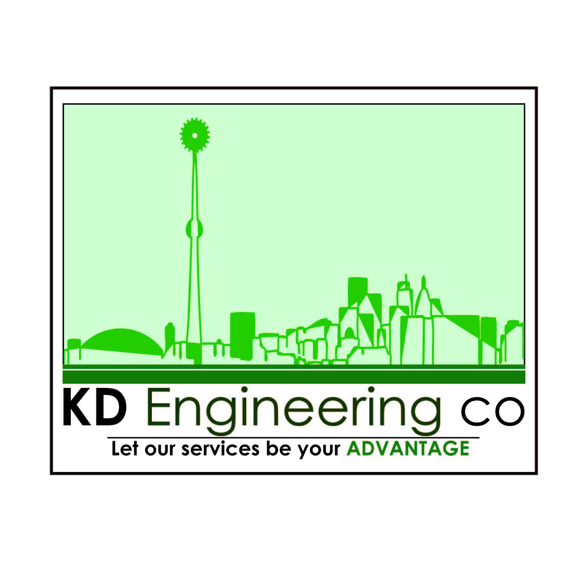 Logo Design by Saunter - Entry No. 59 in the Logo Design Contest KD Engineering Co..