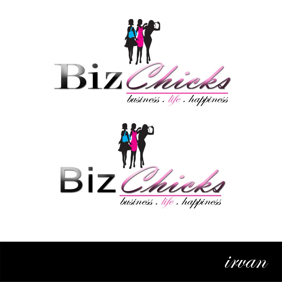 Logo Design by ipay_psywar - Entry No. 29 in the Logo Design Contest BizChicks e-magazine.