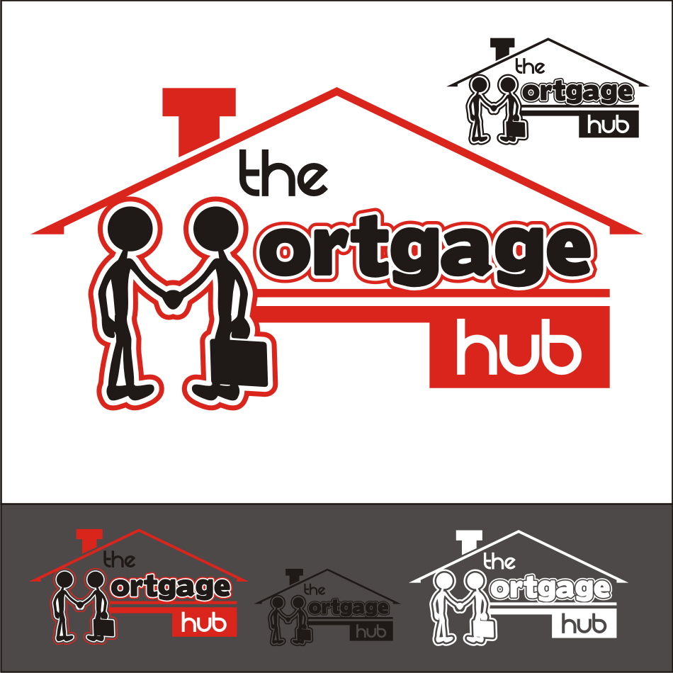 Logo Design by vector.five - Entry No. 65 in the Logo Design Contest The Mortgage Hub.