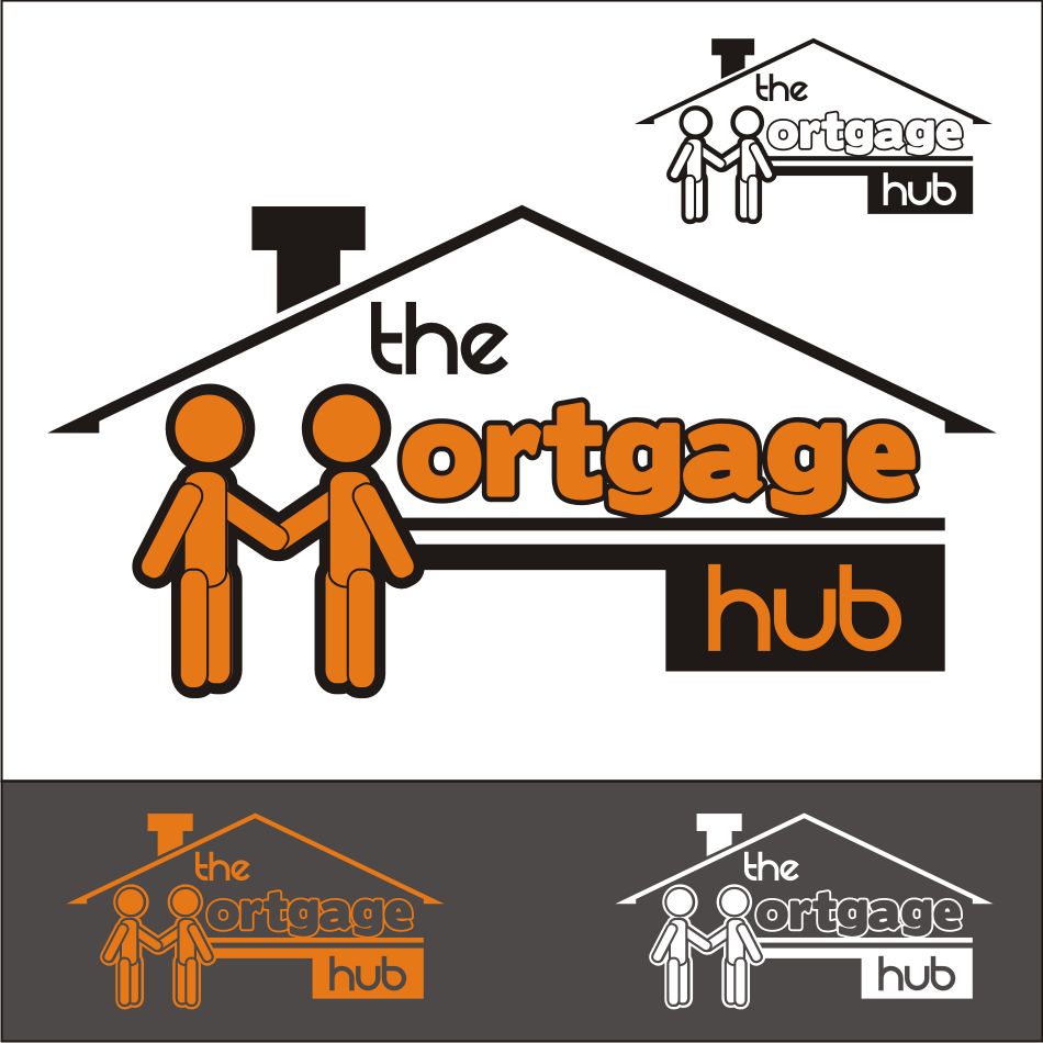 Logo Design by vector.five - Entry No. 66 in the Logo Design Contest The Mortgage Hub.