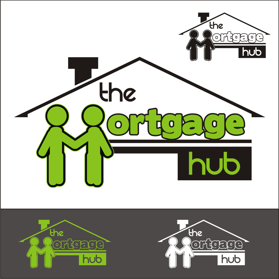 Logo Design by vector.five - Entry No. 67 in the Logo Design Contest The Mortgage Hub.