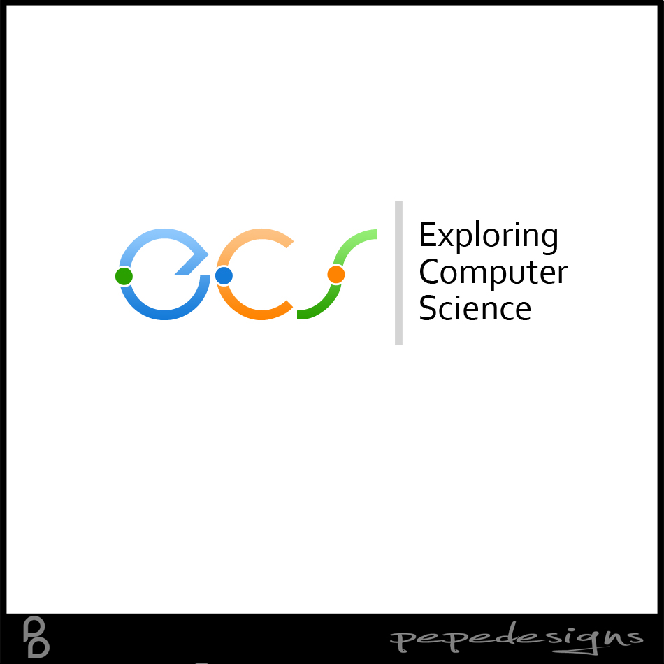 Logo Design by Joseph Neal Lacatan - Entry No. 217 in the Logo Design Contest ECS - Exploring Computer Science.