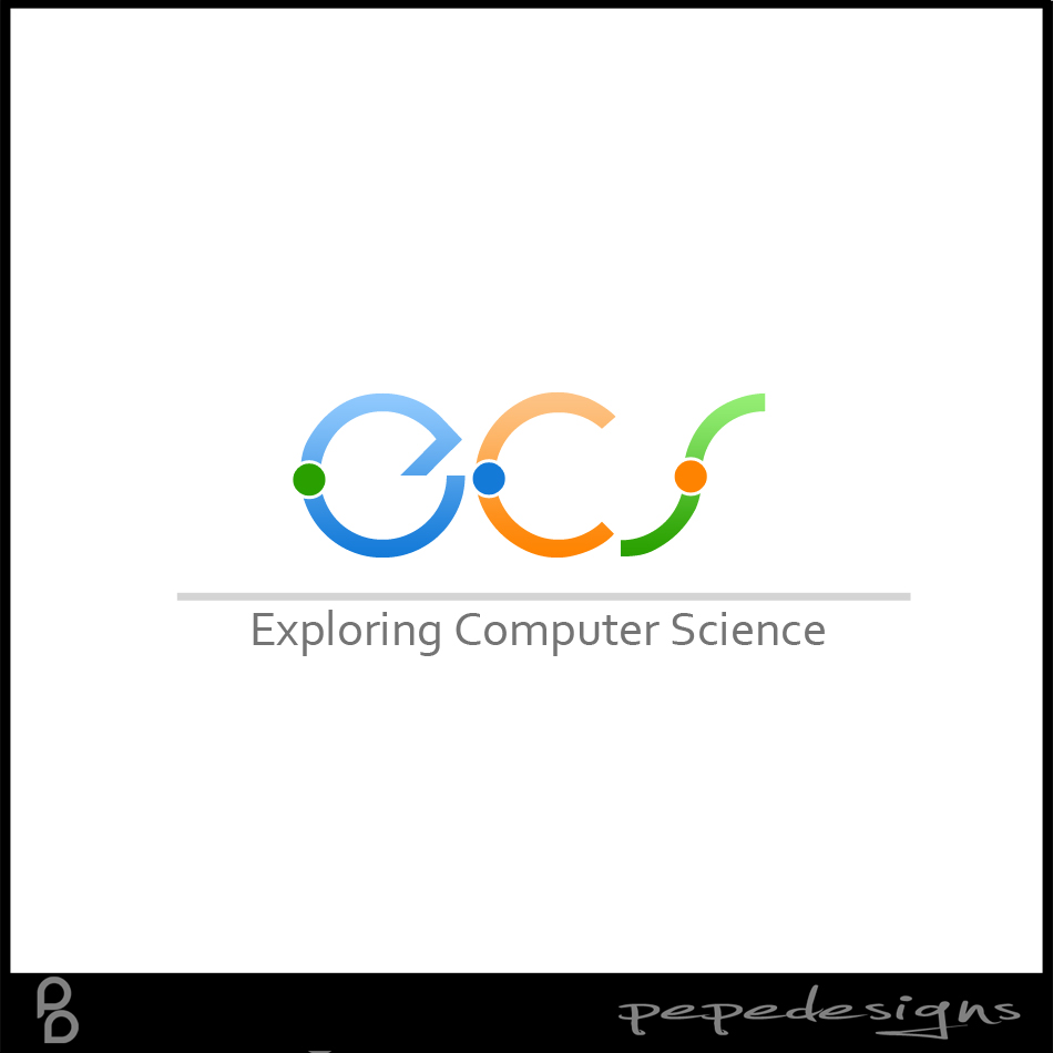 Logo Design by Joseph Lemuel Lacatan - Entry No. 220 in the Logo Design Contest ECS - Exploring Computer Science.