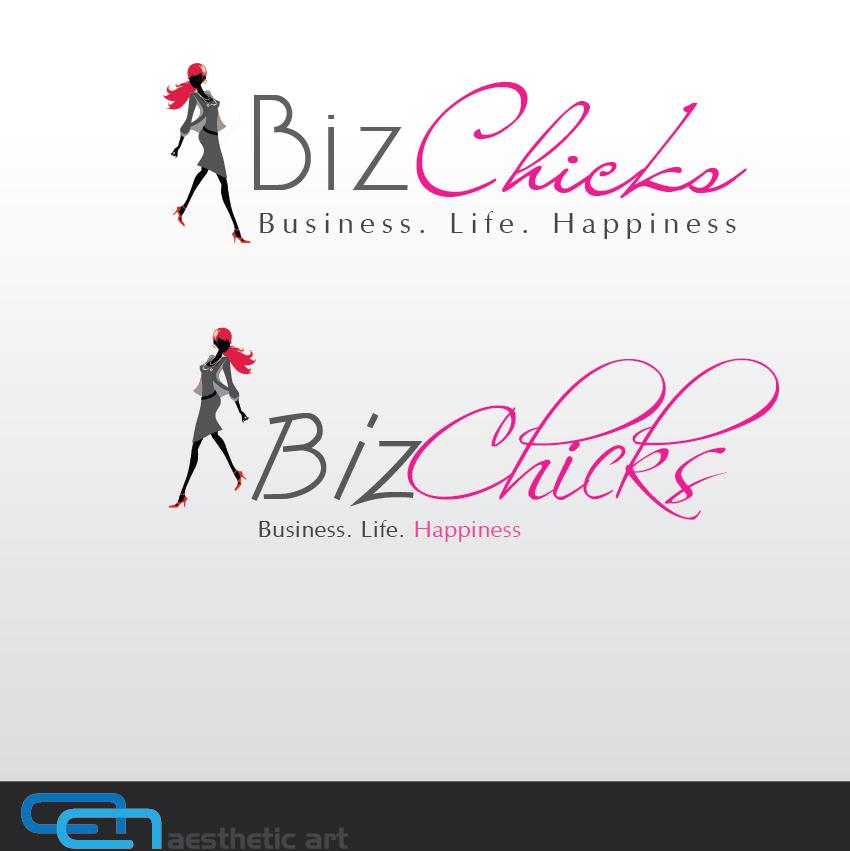 Logo Design by aesthetic-art - Entry No. 33 in the Logo Design Contest BizChicks e-magazine.