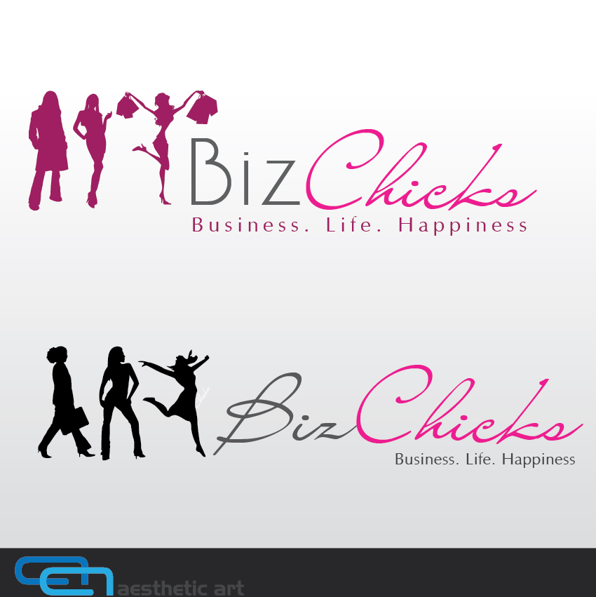 Logo Design by aesthetic-art - Entry No. 34 in the Logo Design Contest BizChicks e-magazine.