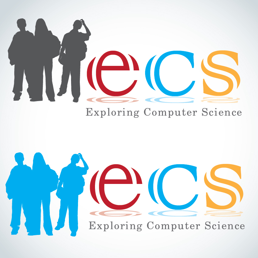 Logo Design by aesthetic-art - Entry No. 226 in the Logo Design Contest ECS - Exploring Computer Science.