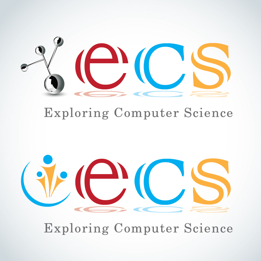 Logo Design by aesthetic-art - Entry No. 230 in the Logo Design Contest ECS - Exploring Computer Science.
