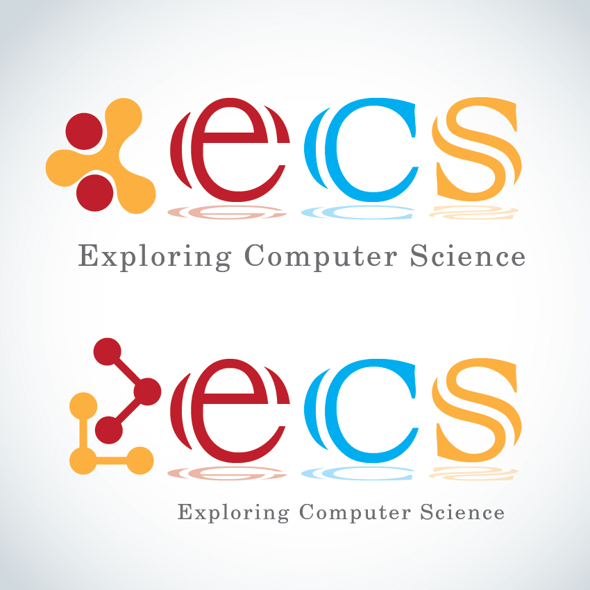 Logo Design by aesthetic-art - Entry No. 231 in the Logo Design Contest ECS - Exploring Computer Science.