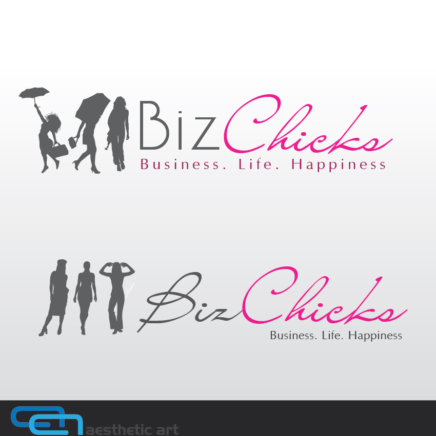 Logo Design by aesthetic-art - Entry No. 35 in the Logo Design Contest BizChicks e-magazine.