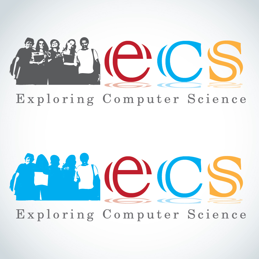 Logo Design by aesthetic-art - Entry No. 246 in the Logo Design Contest ECS - Exploring Computer Science.