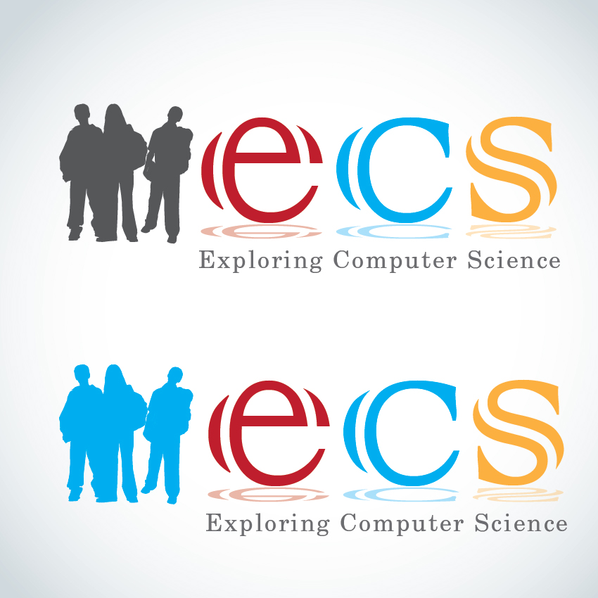 Logo Design by aesthetic-art - Entry No. 247 in the Logo Design Contest ECS - Exploring Computer Science.