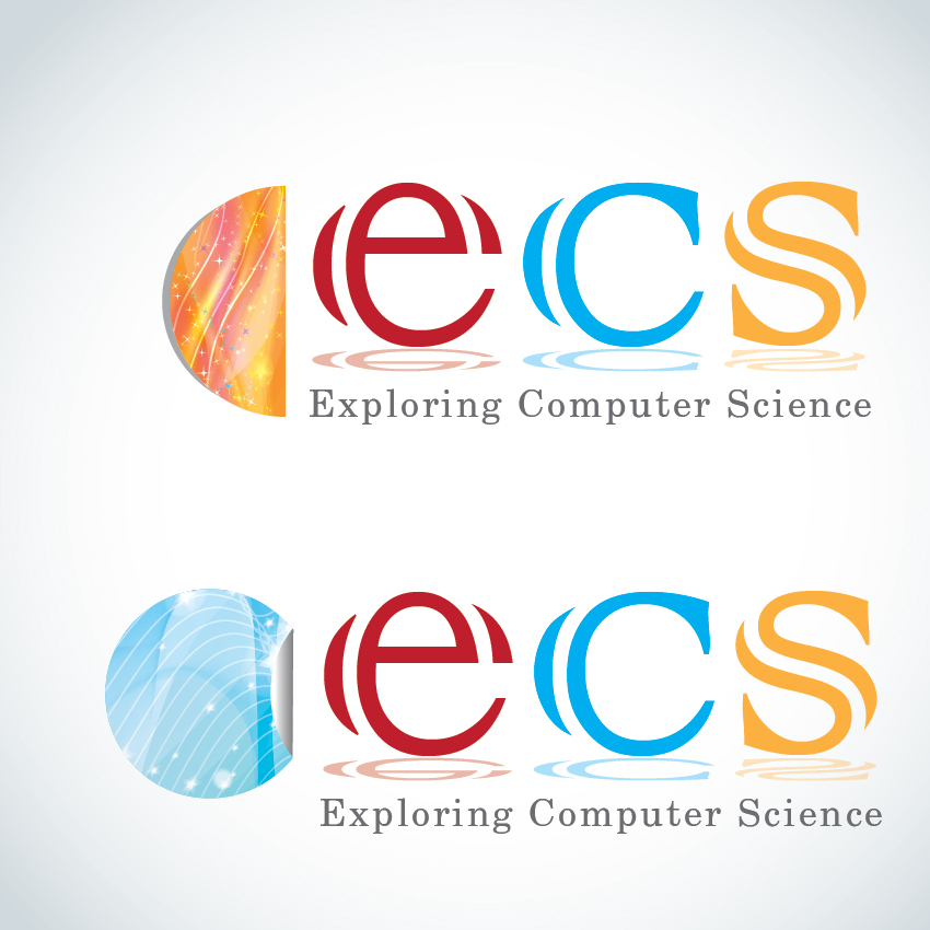 Logo Design by aesthetic-art - Entry No. 250 in the Logo Design Contest ECS - Exploring Computer Science.