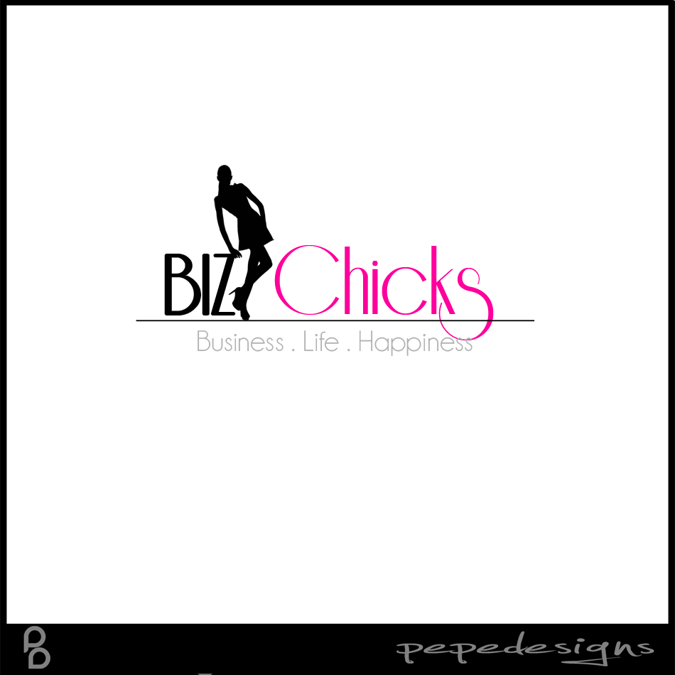 Logo Design by Joseph Neal Lacatan - Entry No. 40 in the Logo Design Contest BizChicks e-magazine.