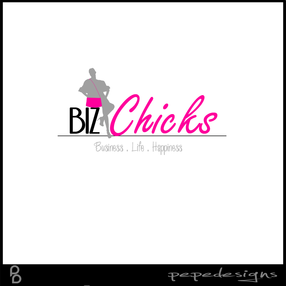Logo Design by Private User - Entry No. 41 in the Logo Design Contest BizChicks e-magazine.