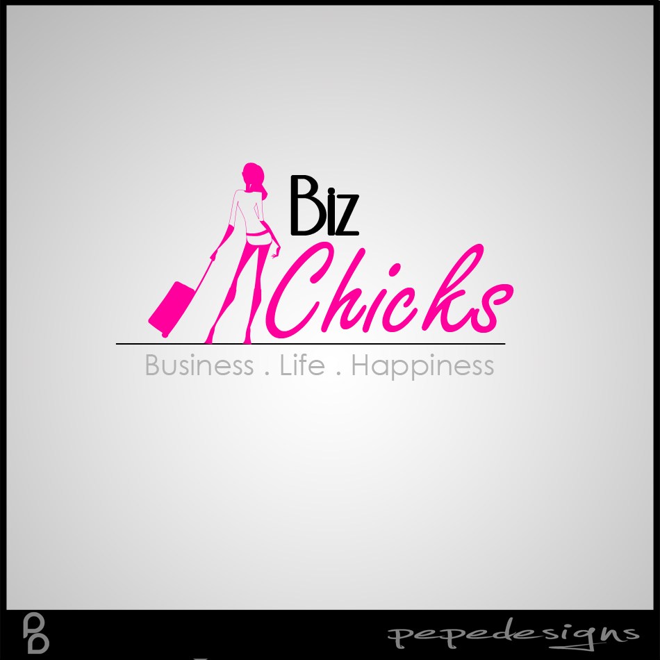 Logo Design by Joseph Lemuel Lacatan - Entry No. 42 in the Logo Design Contest BizChicks e-magazine.