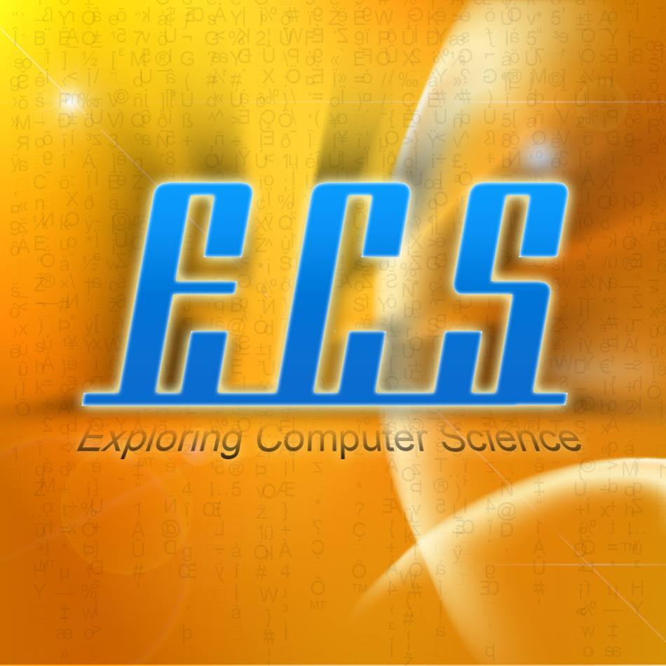 Logo Design by airosario - Entry No. 261 in the Logo Design Contest ECS - Exploring Computer Science.