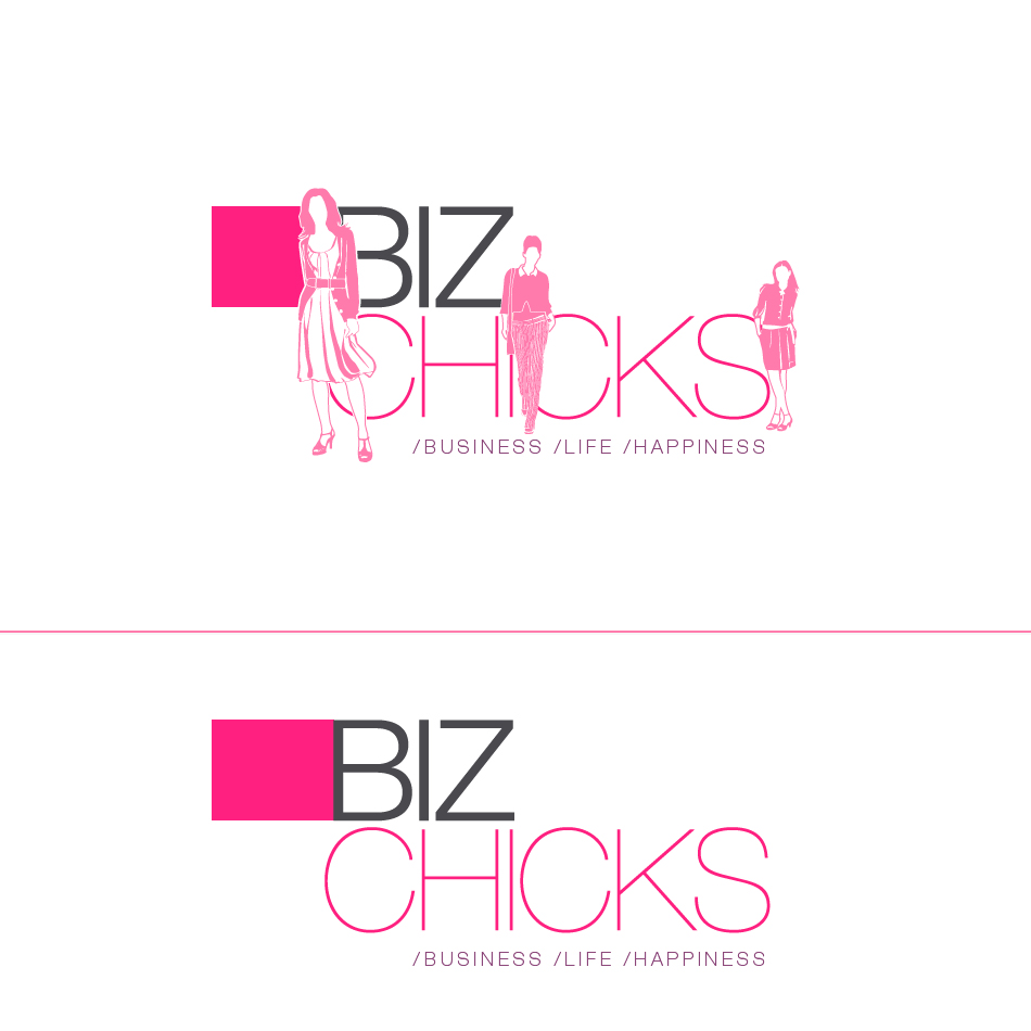 Logo Design by aerodynamics - Entry No. 50 in the Logo Design Contest BizChicks e-magazine.