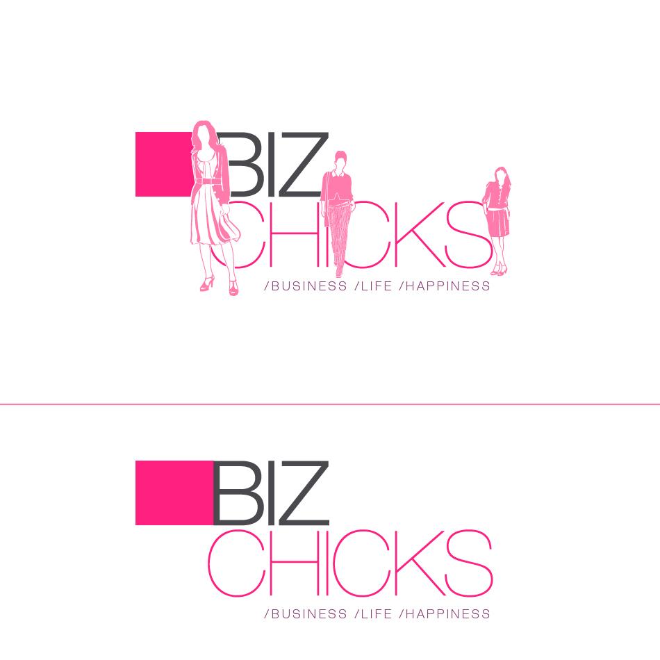 Logo Design by aerodynamics - Entry No. 50 in the Logo Design Contest BizChicks e-magazine.