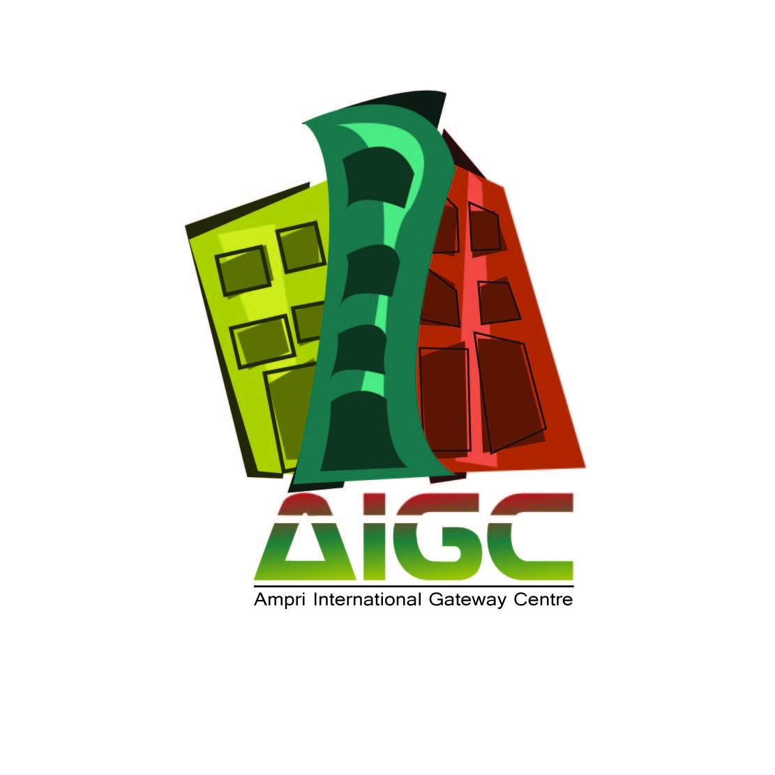 Logo Design by Saunter - Entry No. 1 in the Logo Design Contest Ampri International Gateway Centre (AIGC).