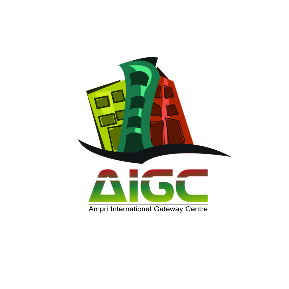 Logo Design by Saunter - Entry No. 2 in the Logo Design Contest Ampri International Gateway Centre (AIGC).