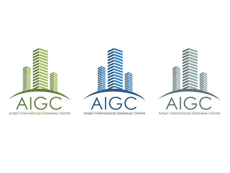 Logo Design by chadtulio - Entry No. 3 in the Logo Design Contest Ampri International Gateway Centre (AIGC).