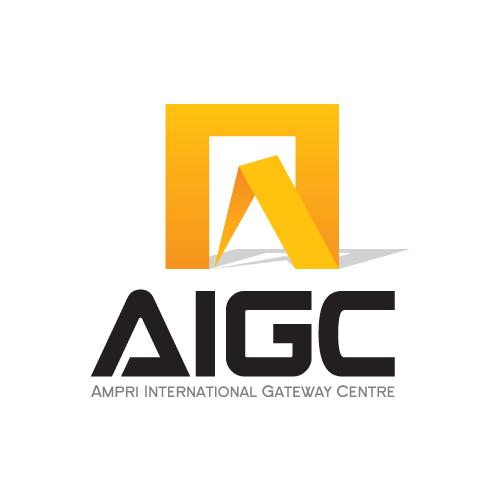 Logo Design by balarea - Entry No. 6 in the Logo Design Contest Ampri International Gateway Centre (AIGC).