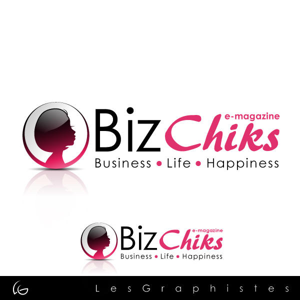 Logo Design by Les-Graphistes - Entry No. 57 in the Logo Design Contest BizChicks e-magazine.
