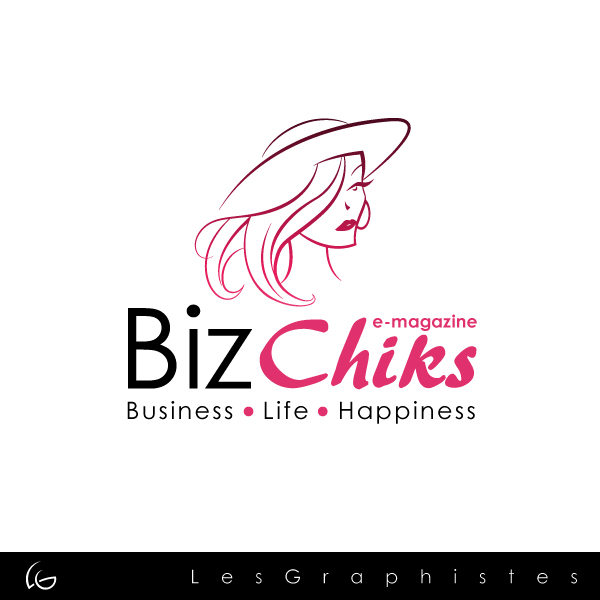 Logo Design by Les-Graphistes - Entry No. 58 in the Logo Design Contest BizChicks e-magazine.