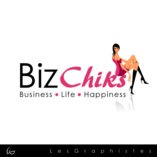 Logo Design by Les-Graphistes - Entry No. 59 in the Logo Design Contest BizChicks e-magazine.