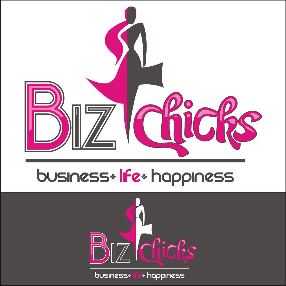 Logo Design by vector.five - Entry No. 61 in the Logo Design Contest BizChicks e-magazine.