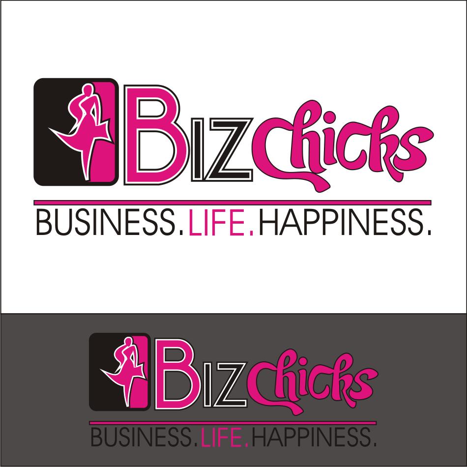Logo Design by vector.five - Entry No. 63 in the Logo Design Contest BizChicks e-magazine.