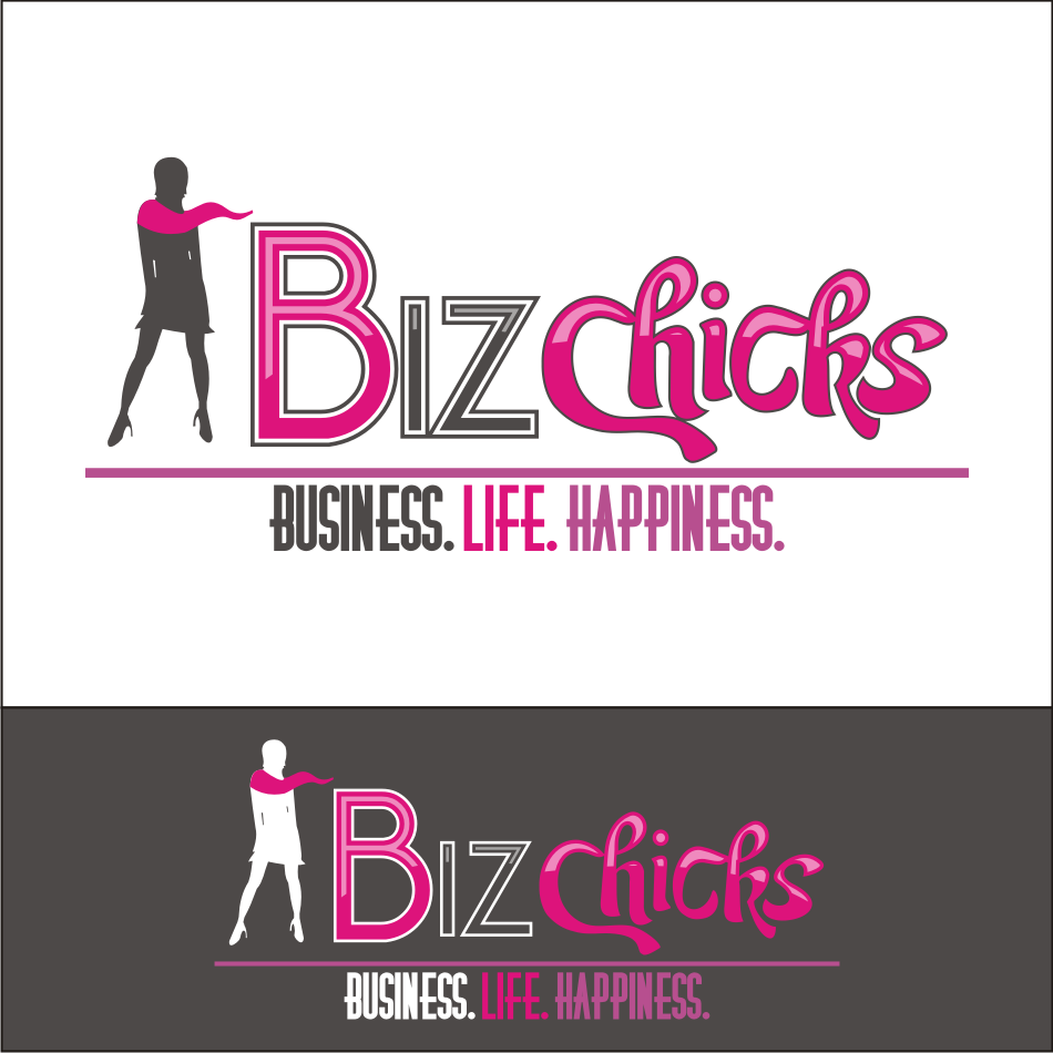 Logo Design by vector.five - Entry No. 64 in the Logo Design Contest BizChicks e-magazine.