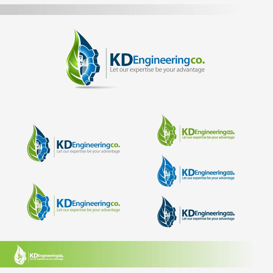 Logo Design by zesthar - Entry No. 72 in the Logo Design Contest KD Engineering Co..