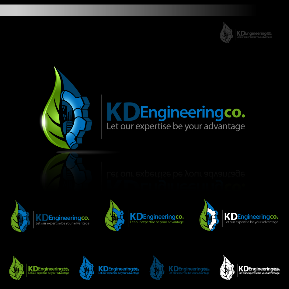 Logo Design by zesthar - Entry No. 73 in the Logo Design Contest KD Engineering Co..