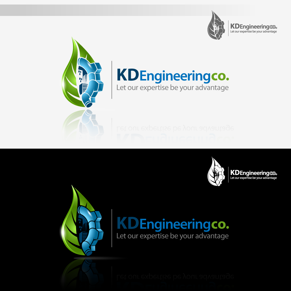 Logo Design by zesthar - Entry No. 74 in the Logo Design Contest KD Engineering Co..