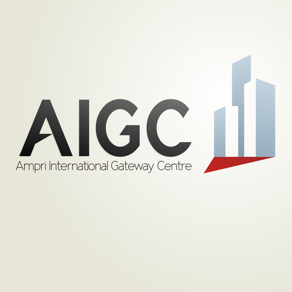 Logo Design by Autoanswer - Entry No. 9 in the Logo Design Contest Ampri International Gateway Centre (AIGC).