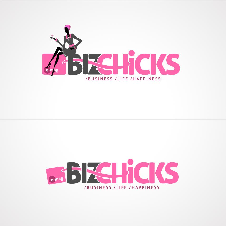 Logo Design by aerodynamics - Entry No. 75 in the Logo Design Contest BizChicks e-magazine.