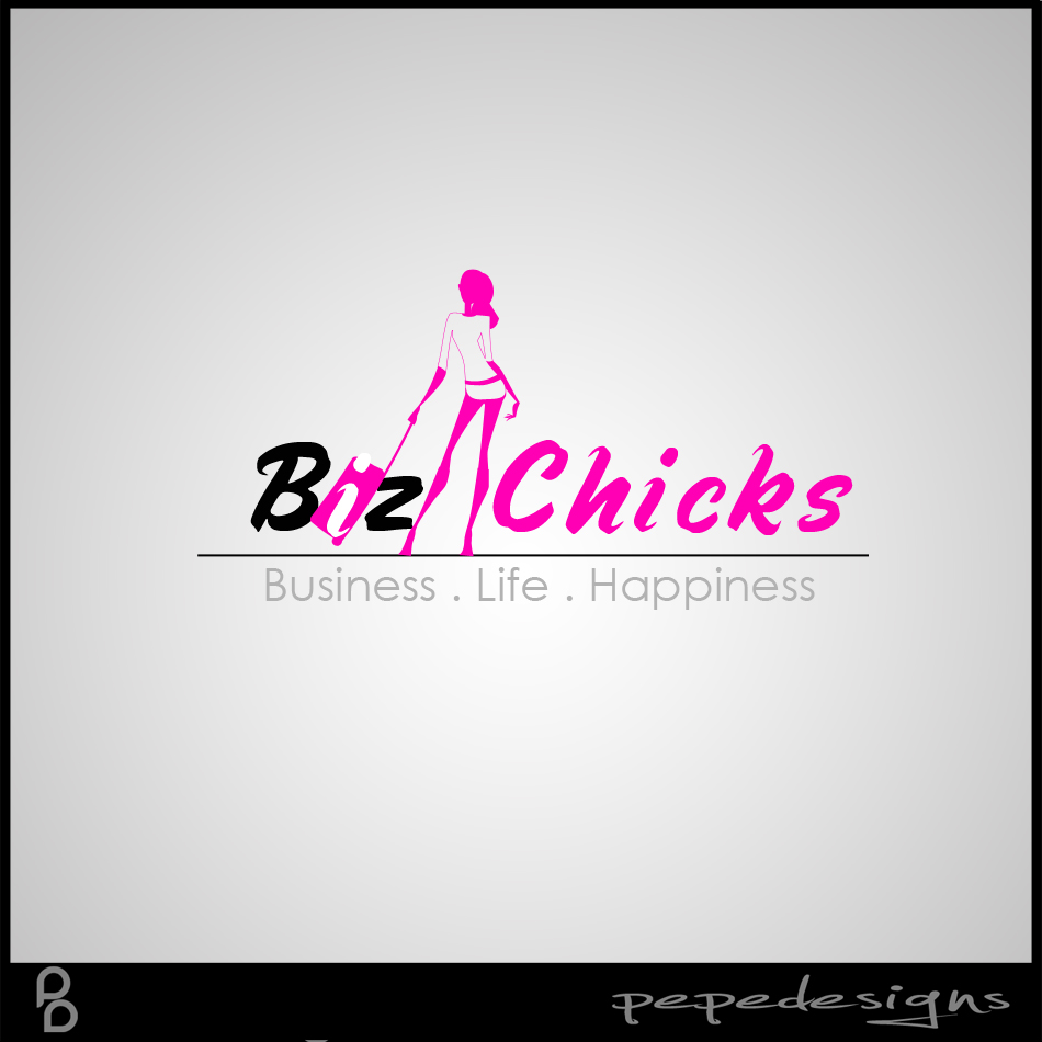 Logo Design by Private User - Entry No. 79 in the Logo Design Contest BizChicks e-magazine.